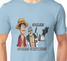 Woody D Luffy learns the Sad Truth Unisex T-Shirt