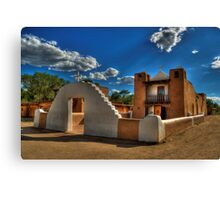 San Geronimo Church Taos Pueblo Canvas Print
