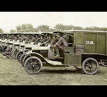 Ambulance Medical Corp WWI by dianegaddis