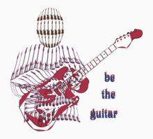 Guitar Man Baby Tee