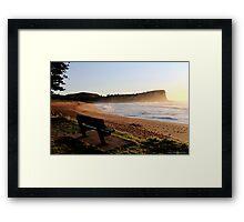 Avalon Beach Sunrise Framed Print