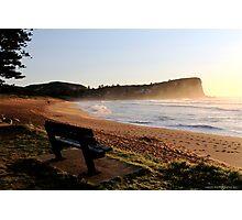 Avalon Beach Sunrise Photographic Print