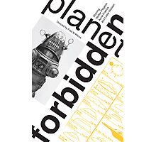 Forbidden Planet Poster conceptual  Photographic Print