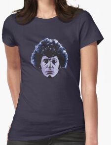 The Face Of Who Womens Fitted T-Shirt