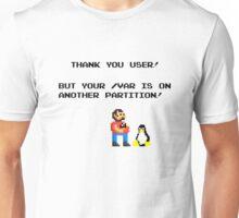 linux tux mario like troll Unisex T-Shirt