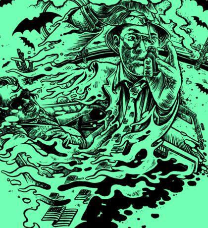 Raoul Duke Fear and Loathing Sticker