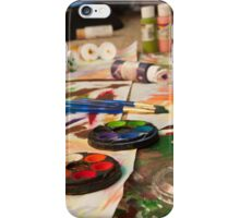 Color Me Painted iPhone Case/Skin