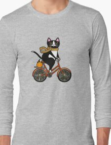 Cat on a Bicycle  Long Sleeve T-Shirt