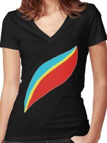 Captain EO (brighter) Women's Fitted V-Neck T-Shirt