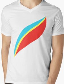 Captain EO (brighter) Mens V-Neck T-Shirt