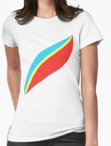 Captain EO (brighter) Womens Fitted T-Shirt