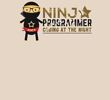 Programmer T-shirt : Ninja programmer. coding at the night Unisex T-Shirt