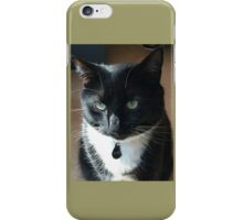 Rosco - the rescue kitty iPhone Case/Skin