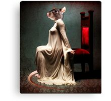 Lady of the Court  Canvas Print