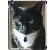 Rosco - the rescue kitty iPad Case/Skin