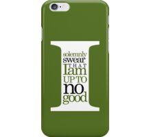 Marauders quote iPhone Case/Skin