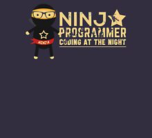 Programmer T-shirt : Ninja programmer. coding at the night T-Shirt