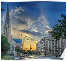 After the storm, Salisbury and Edenton, Raleigh - Large Poster