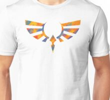 Hylian Crest Paint Orange Unisex T-Shirt