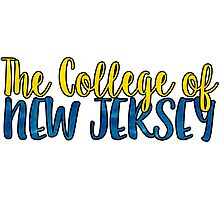 The College of New Jersey Two Tone Photographic Print