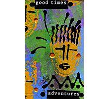 Embracing the Spirit of Adventure Deep Inside Photographic Print
