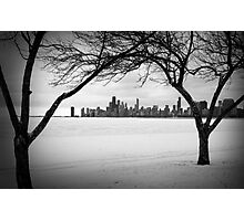 Winter Chicago Photographic Print