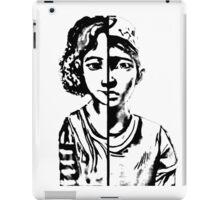 walking dead Clementine iPad Case/Skin