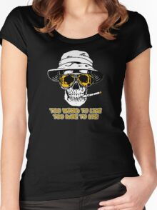 Hunter S Thompson - Too Weird Women's Fitted Scoop T-Shirt