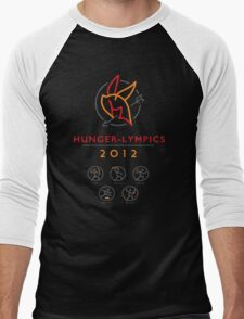 Hunger-lympics Men's Baseball ¾ T-Shirt