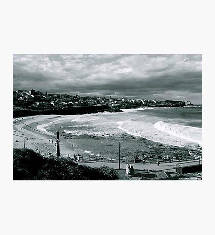 Bronte Beach Black and White Photographic Print