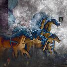 A Dream of Blue Horses by Richard Earl