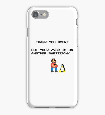 linux tux mario like troll iPhone Case/Skin