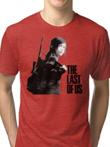 Ellie in the last of us Tri-blend T-Shirt