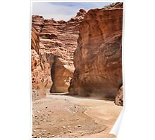Paria Canyon Dust Poster