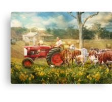 'Til The Cows Come Home Canvas Print