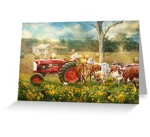 'Til The Cows Come Home Greeting Card
