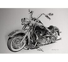 Harley Deluxe Photographic Print