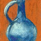 Pitcher (pastel) by Niki Hilsabeck