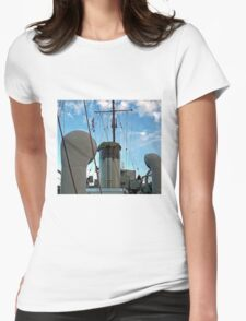 01 Deck Midships Womens Fitted T-Shirt