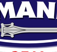 He-Manns Real Man Spread Sticker