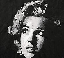 Marilyn_Black by HAVI Art