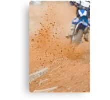 Motocross Roost Canvas Print