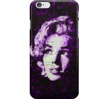 Marilyn_Violet iPhone Case/Skin