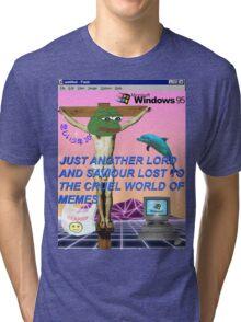 Trash Aesthetic Tri-blend T-Shirt