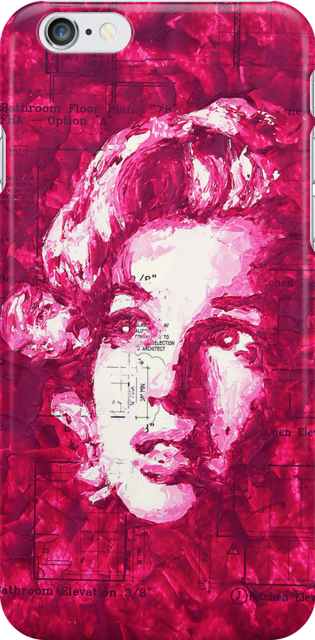 Marilyn_Purple 2 by HAVI Art