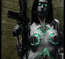 Cyberpunk Photography 003 by Ian Sokoliwski