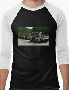 Holy Deloreans, Batman! Men's Baseball ¾ T-Shirt