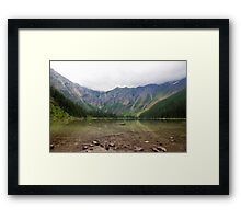 Avalanche Lake Reflections Framed Print