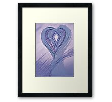 Warm Heart Framed Print