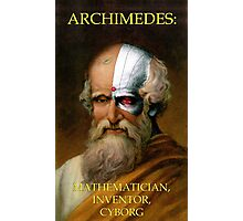 Archimedes Cyborg Photographic Print